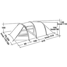 Easy Camp Spirit 300 Tent yellow/orange